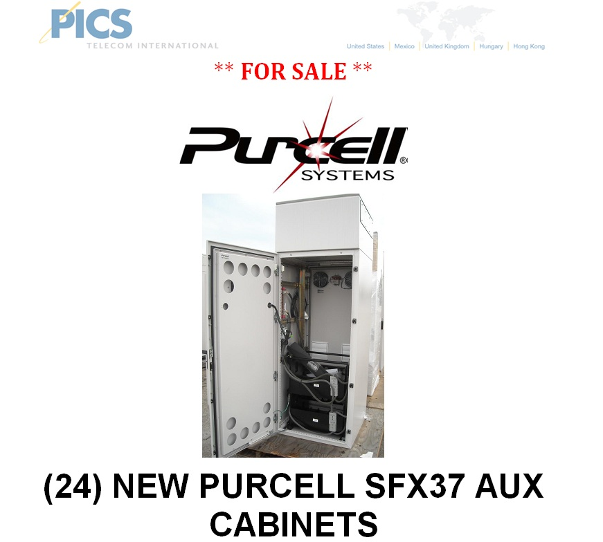 Purcell SFX37 AUX Cabinets (QTY 24) For Sale | telecomcauliffe ...