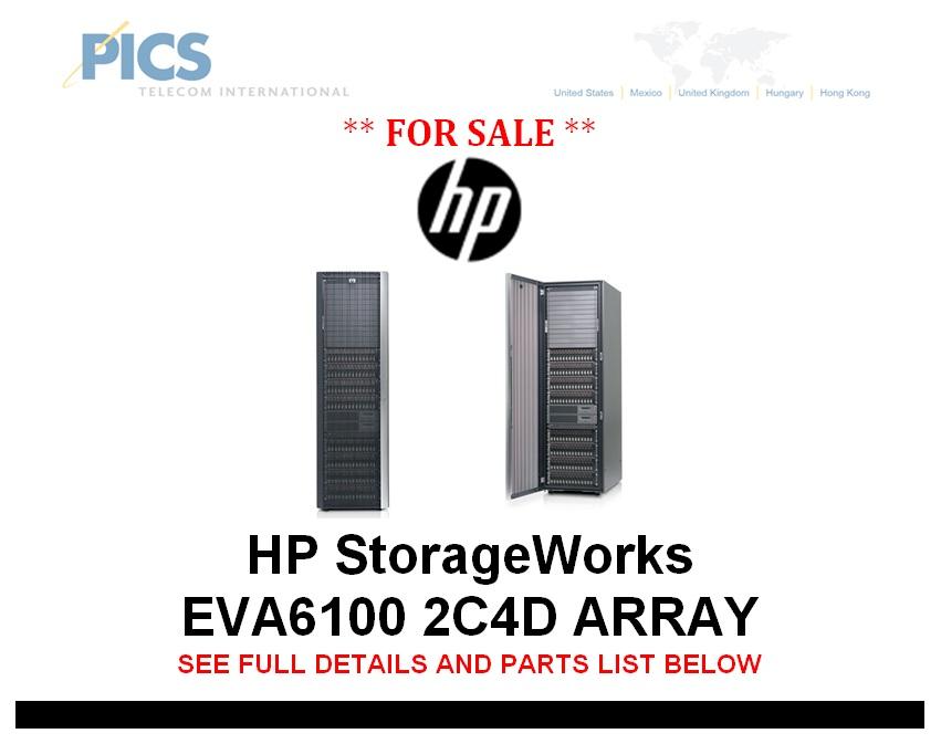 HP StorageWorks EVA6100 Array For Sale Top