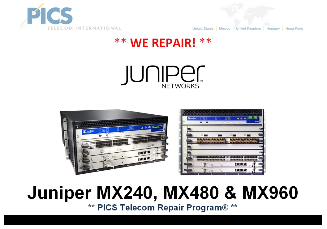 Juniper MX Series Repair For Sale Top (11.7.14)