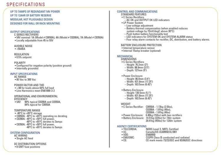 Eltek-Valere LPS Series Rectifiers For Sale Bottom (12.5.14)