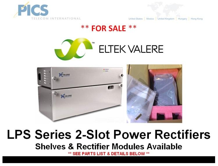 Eltek-Valere LPS Series Rectifiers For Sale Top (12.5.14)