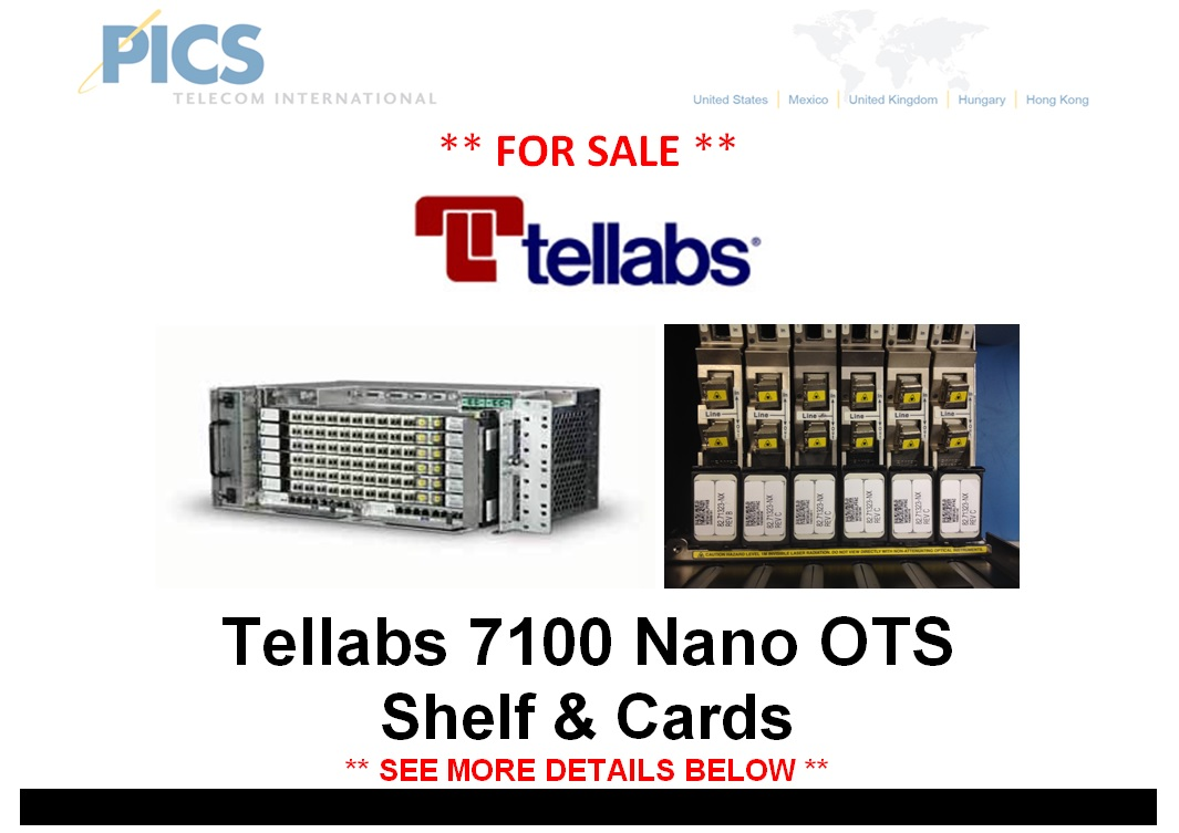 Tellabs 7100 Nano OTS For Sale Top (12.5.14)
