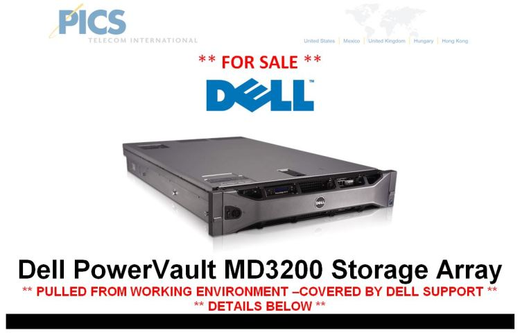 Dell PowerVault MD3200 For Sale Top (1.27.15)