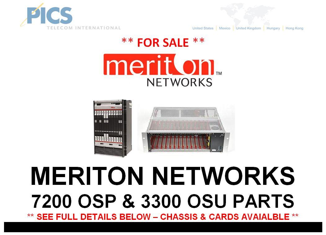Meriton 7200 & 3300 Parts For Sale Top (3.12.15)