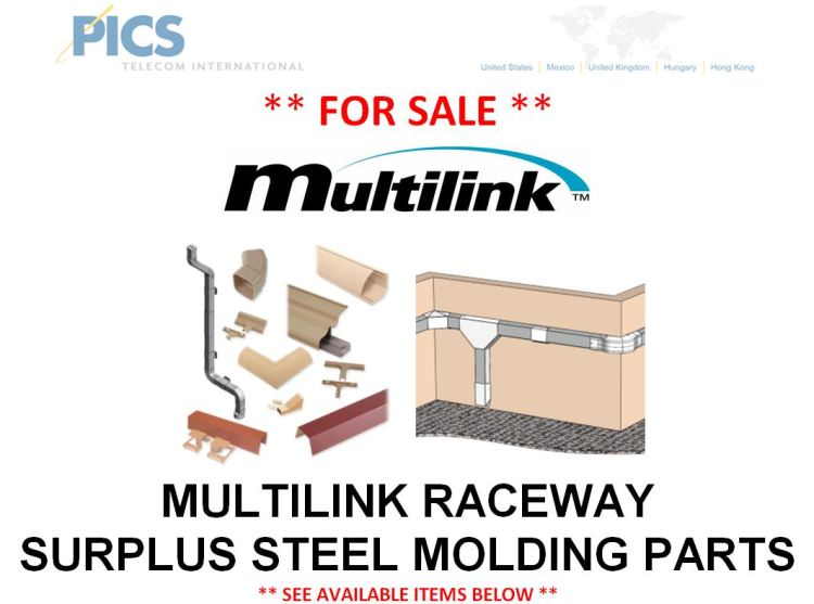 Multilink Surplus Steel Molding For Sale Top (3.13.15)
