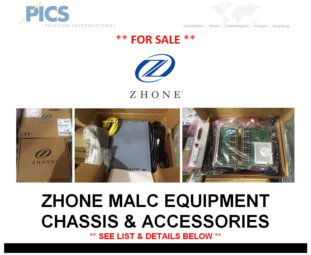 Zhone MALC Equipment For Sale Top (3.13.15)