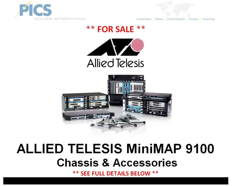 Allied Telesis Parts For Sale Top (7.15.15)