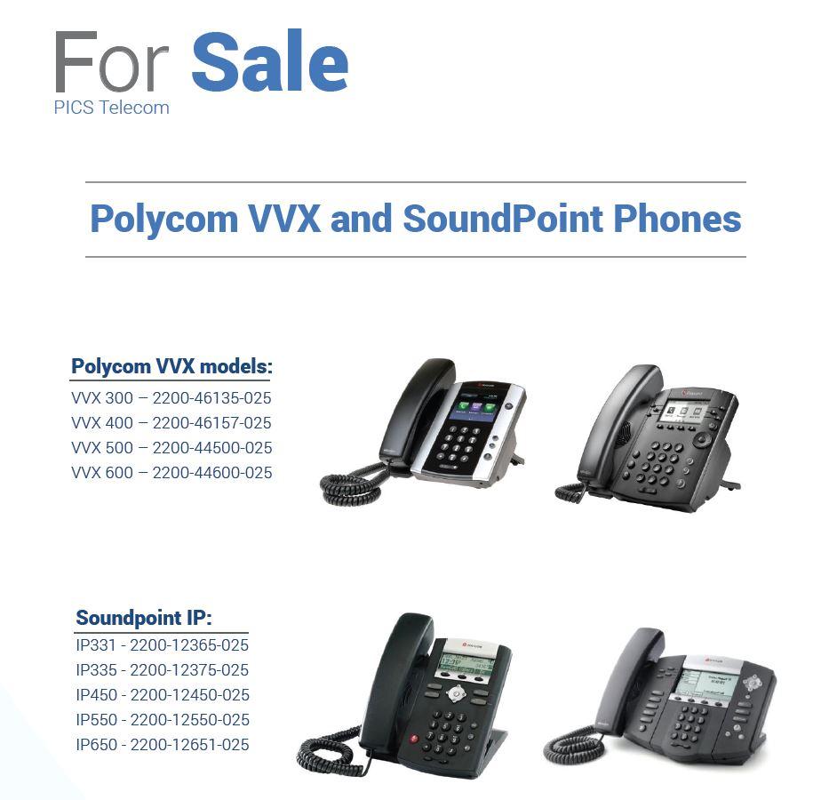 Polycom VVX & SoundPoint For Sale Top (7.31.15)