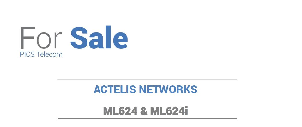 Actelis EAD's For Sale Top (8.4.15)