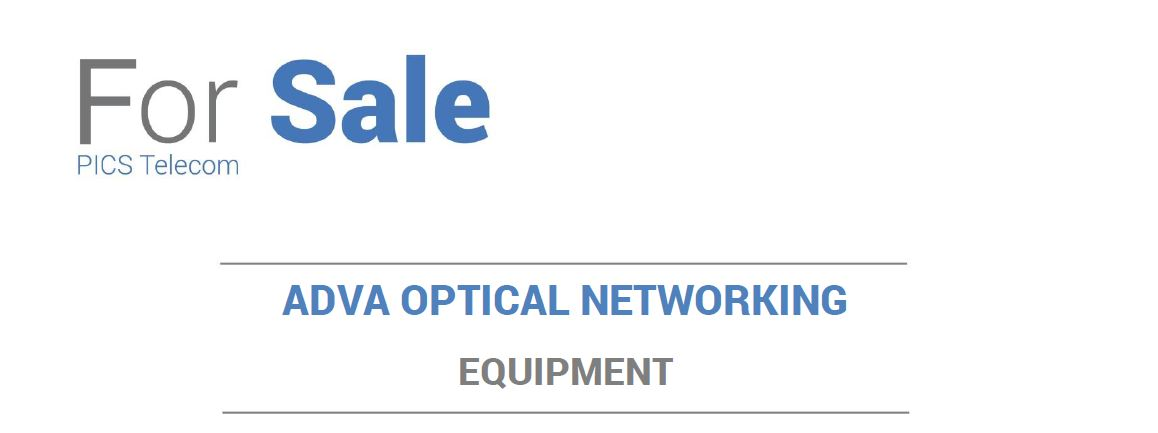 Adva Equipment For Sale Top (8.4.15)