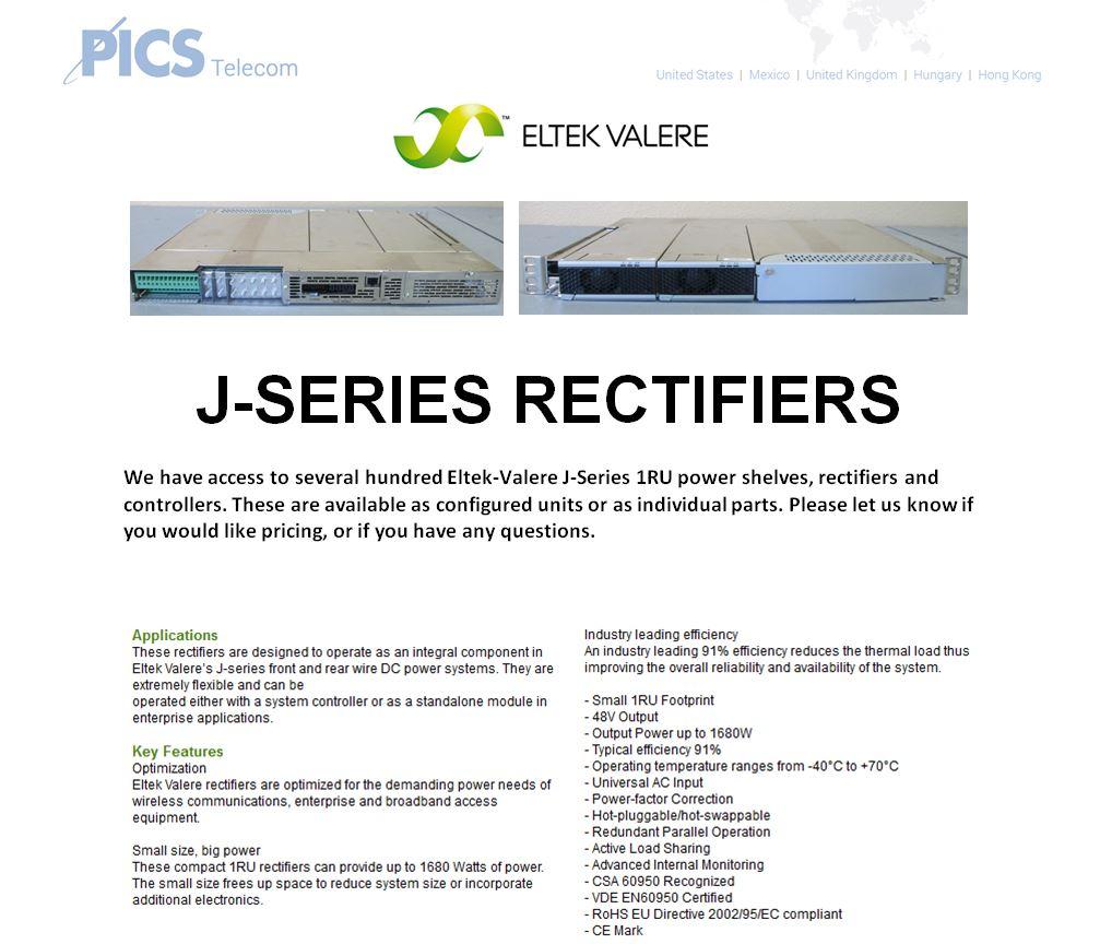 Eltek-Valere J-Series Rectifiers For Sale Top (8.26.15)