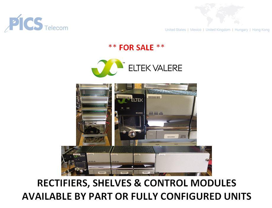 Eltek-Valere Rectifiers For Sale Top (6.27.16)